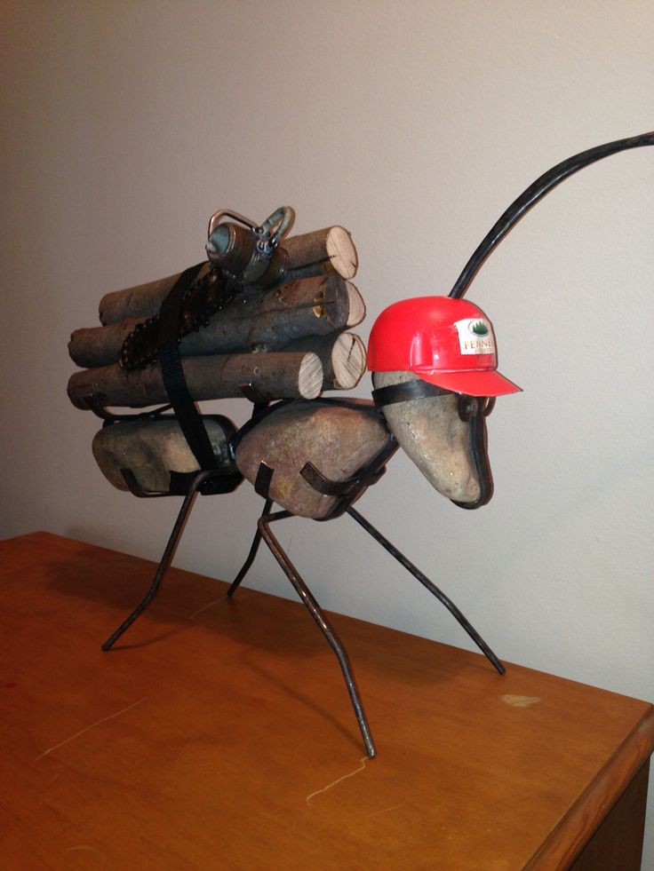 Logger ant Made by Dave Parsons Mount Gambier South Australia