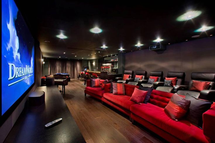 amazing home cinema