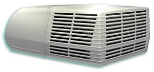 Coleman Complete 15000 BTU RV Air Conditioner - this one is altogether, only added thing is heating element and it's priced decently at this store