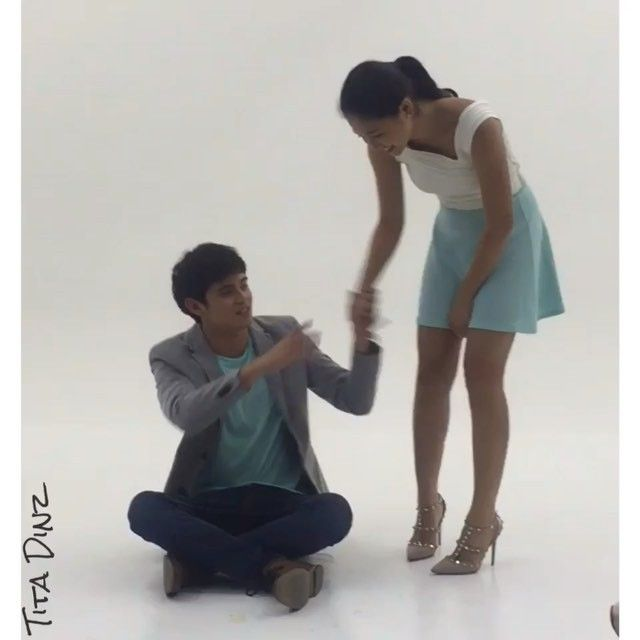 The chemistry&kilig even offcam is #OTWOLTooGood tonight after Pangako Sa Yo on Primetime Bida #JaDine