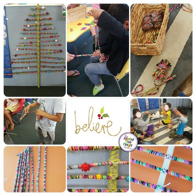 creating our own Christmas Tree was an activity in fine motor skills, patience and creativity. Click on the link to find out how we created our tree.
