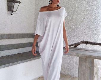 Satin Maxi Dress Kaftan / Summer Kaftan / от SynthiaCouture