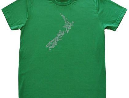 Mens Bike NZ T Shirt