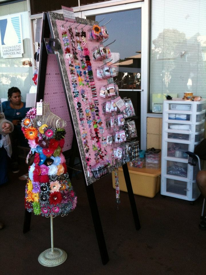 Peg Doll Craft Fair Booth