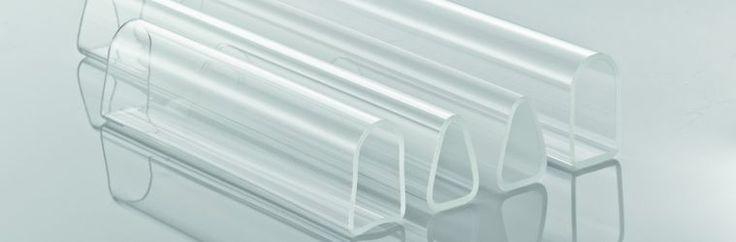 CONTURAX® Pro - Rury szklane o profilach nieokrągłych