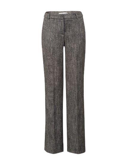 Pantalon met wijde pijpen Zwart