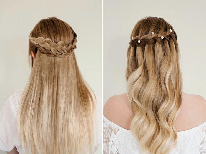 1001 Festliche Frisuren Zum Inspirieren Und Nachstylen Frisuren Glatte Haare Festliche Frisuren Glatte Haare Hochzeitsfrisuren Kurze Haare Geflochten