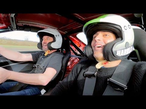 Chris Harris and Lee Mack Lap   Top Gear: Series 25