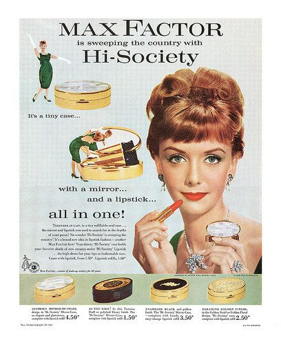 1959 Max Factor ad | Flickr - Photo Sharing!