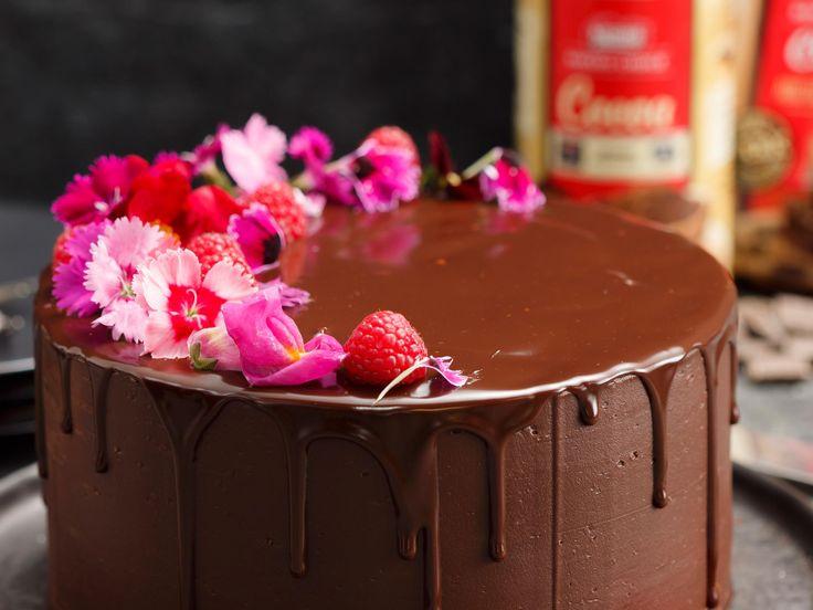Chocolate Drizzle Cake recipe