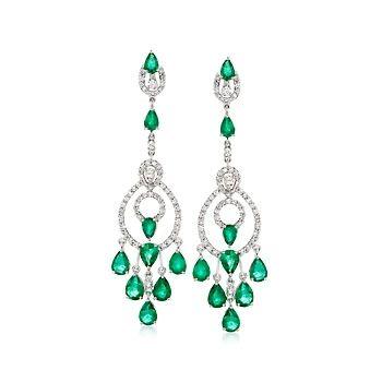 439 best Esmeralds Jewlery images on Pinterest | Emerald earrings ...