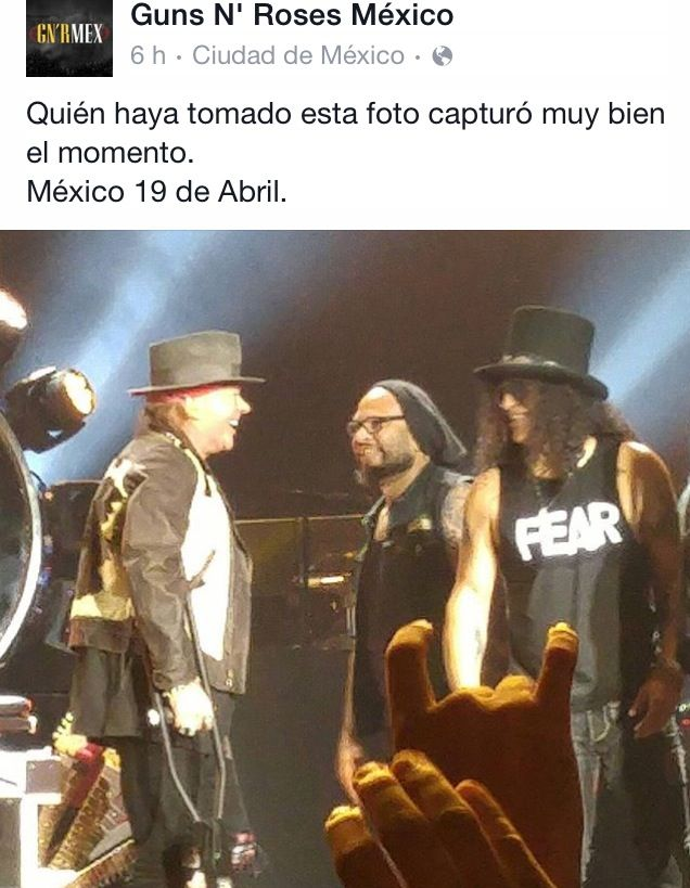 Guns N' Roses México 2016