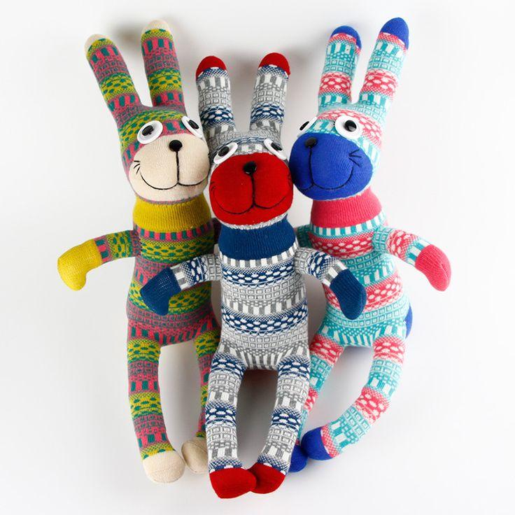 Дешевое Ручной работы DIY мягкие очаровательны носок кролик банни детские ребенка показать игрушки подарки на день рождения рождество новый год мягкие животные куклы, Купить Качество Набивные плюшевые игрушки непосредственно из китайских фирмах-поставщиках:    1  2  3  4  5