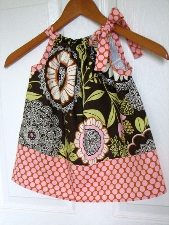 toddler pillowcase dress in AMY BUTLER Lotus from the ButterflyBabyPlace on Etsy: