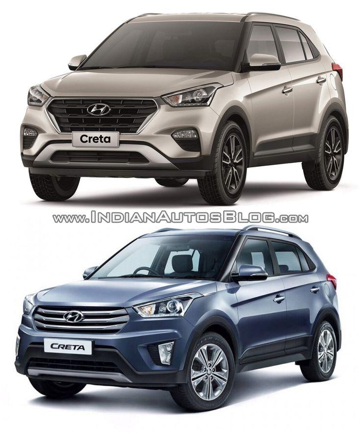 2017 Hyundai Creta Vs 2015 Hyundai Creta Old Vs New Hyundai New Cars Suv