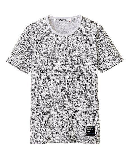Uniqlo Men's t-shirt, small people