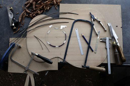 Acoustic Guitar Construction Rossette Design