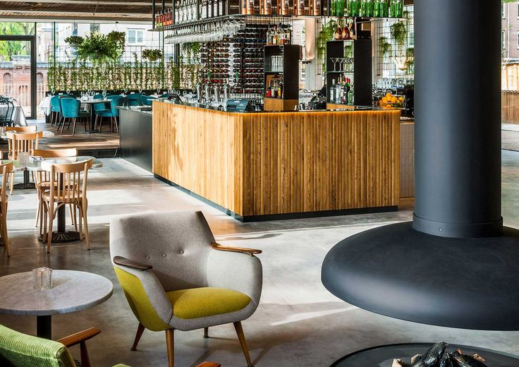 PARK CAFÉ RESTAURANT designed by TANK