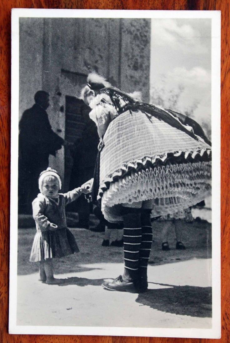 Vintage Photo Postcard RP Hungary Young Girl Bujak Embroidered Popular Costumes | eBay