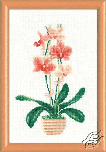 Yellow Orchid - Cross Stitch Kits by RIOLIS - 1161