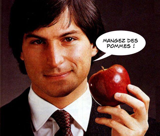 Steve Jobs, ex-gourou d'Apple et diététicien....