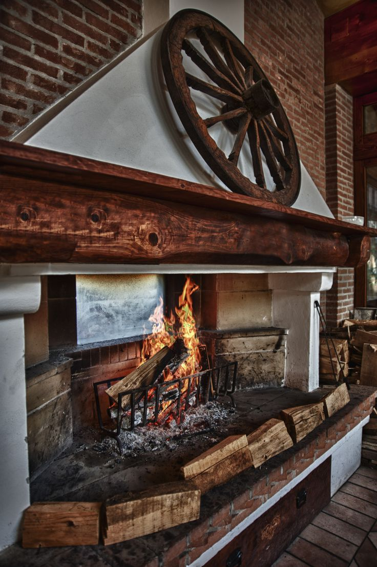 A cozy fireplace by our pool... and nothing else matters!   www.termepreistoriche.it