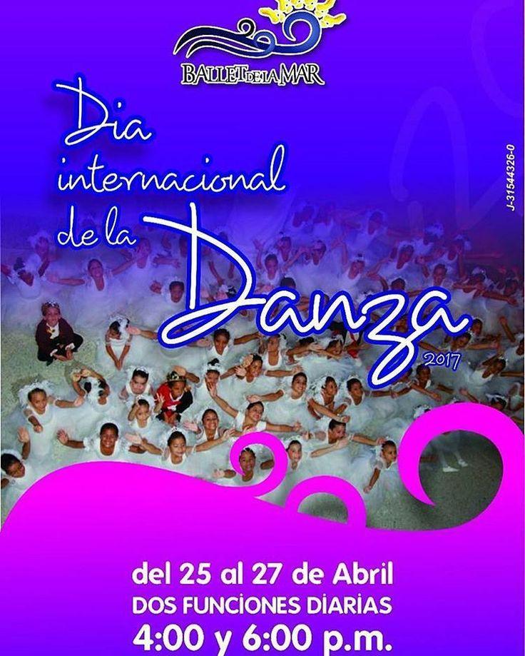 Día Mundial de la Danza Como cada año Ballet de la mar se prepara para celebrar el Día Mundial de la Danza  con una muestra académica en el Centro de Artes Omar Carreño en la Asunción. Comunícate con nosotros y reserva tus entradas ya! Te esperamos #ballet #diadeladanza #islademargarita #hechoenvenezuela