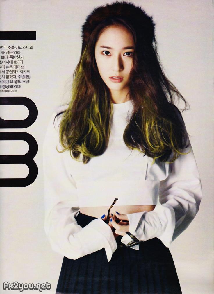 Krystal f(x) Magazine