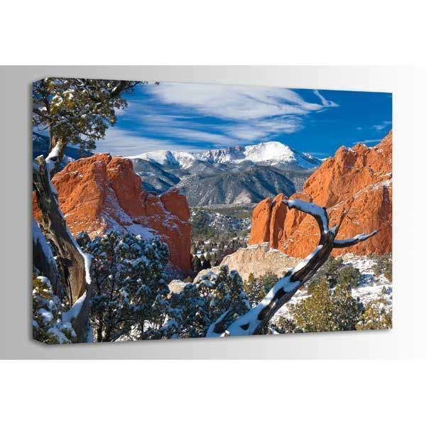 Majestic Pikes Peak 36x24 *D by Circle Graphics is now available at American Furniture Warehouse. Shop our great selection and save!