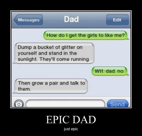 Epic Dad: Giggle, Funny Stuff, Epic Dad, Humor, Funnies, Things, Dads, Funnystuff