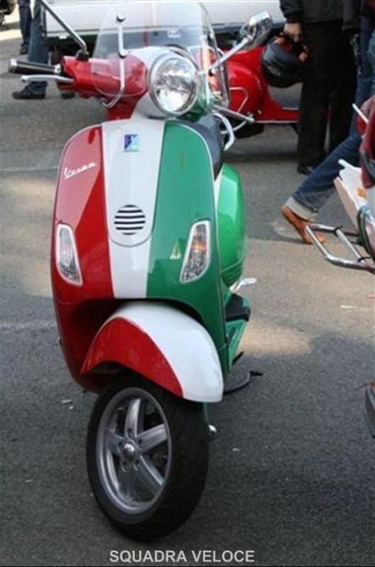 Italian Flag Design