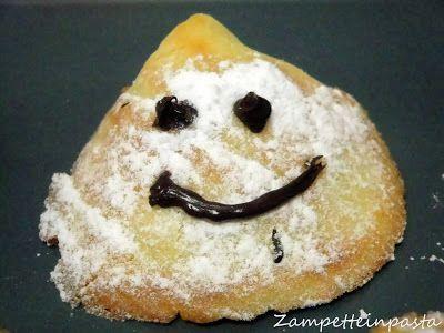 Fantasmini di Halloween - Halloween cakes with egg white