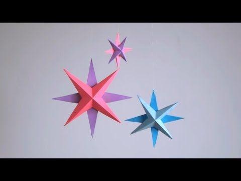 1000 id es sur le th me toiles en papier sur pinterest toiles en origami origami et d corations - Comment faire une etoile en papier ...