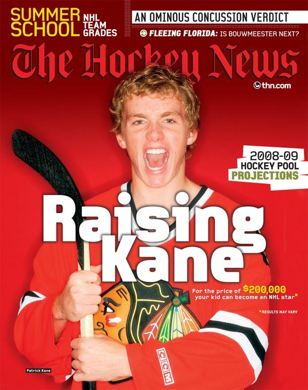 Patrick Kane: 2008 Cover Boy of The Hockey News