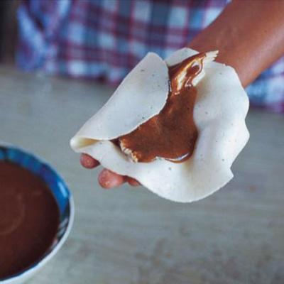 Tamales de mole amarillo (Oaxacan cook Zoyla Mendoza)