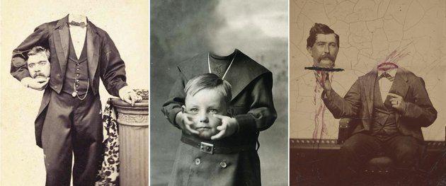 Fejetlen fotók a viktoriánus korból