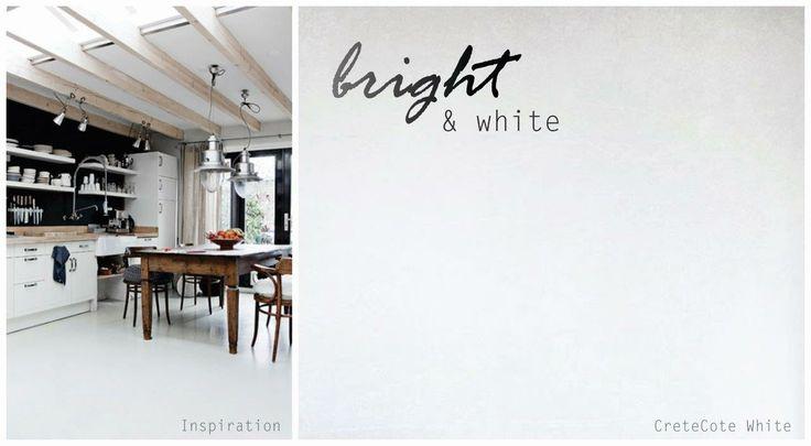 #9 Bright & White - creates a sleek, modern finish