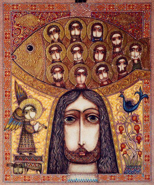 Religious Art: Unique Artworks On Pinterest