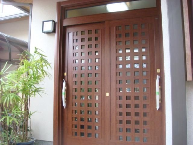 京都市 西京区 玄関引き戸