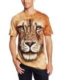 The Mountain Men's Lion Warrior T-shirt - http://tonystshirts.com/the-mountain-mens-lion-warrior-t-shirt/