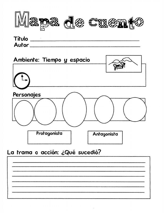 Organizador Mapa de Cuento 3 Paginas