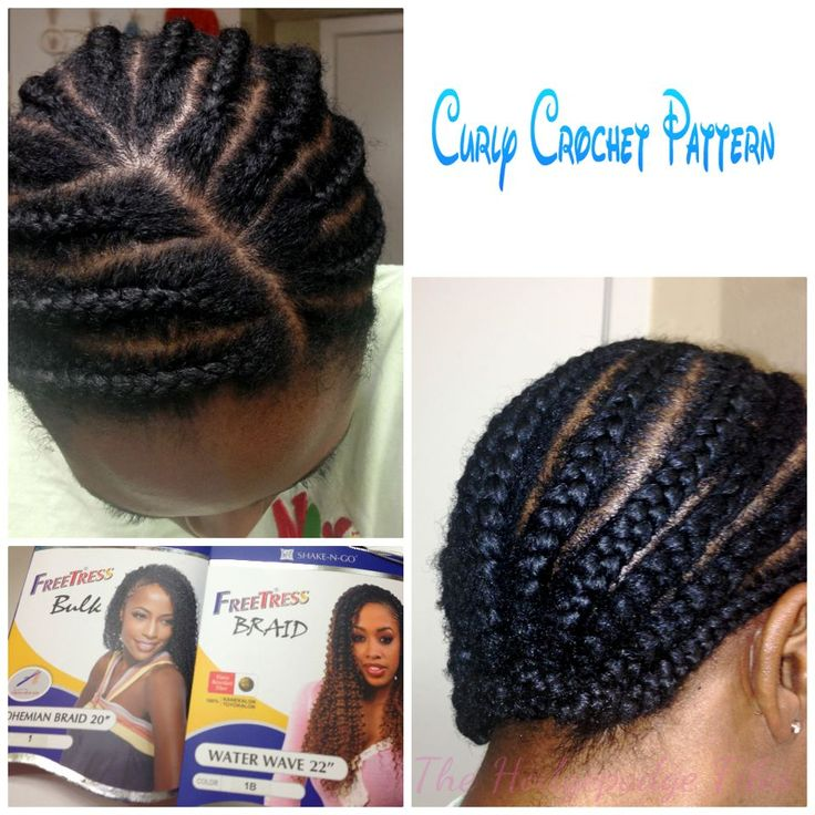 Crochet Braids Patterns : Crochet braid pattern: Freetress Bohemian Waterwave, Hairstyles, Hair ...