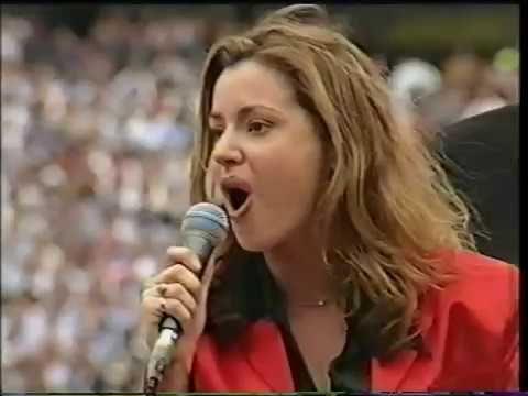 "Tina Arena - ""Waltzing Matilda"" at AFL Grand Final"