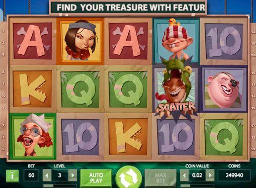 Maszyna hazardu Hooks Heroes - grać w Internecie na prawdziwe pieniądze. Pirate temat jest dość popularny wśród automatów do ceny. Ale NetEnt firma zdołała zaskoczyć zwalniając maszyna do gier, dedykowane do dzieci bawiących się w piratów. Hooks Heroes maszyna hazardu okazało się całkiem zabawne, a jednocześnie - opłacalna. Tutaj gracze oczekują na dość wysokie ceny, i