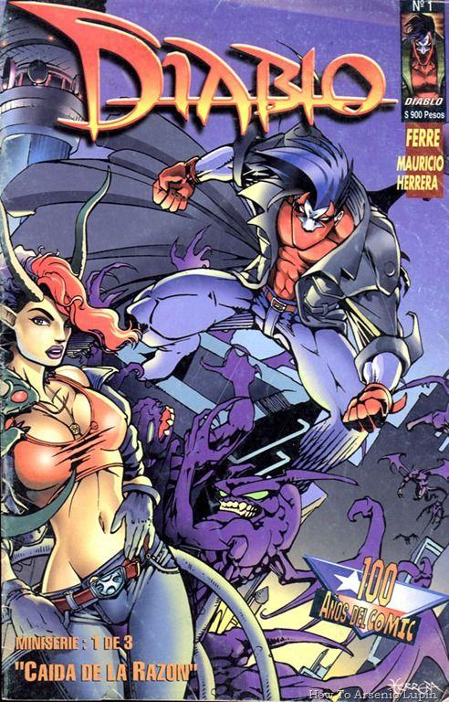 Diablo # 1 1996 (Comic Chile)