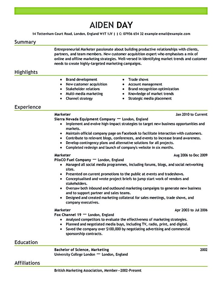 Marketing resume will be all about on how a person can make the company that they apply can be improved. It is also about on who people can have an im... marketing manager resume sample