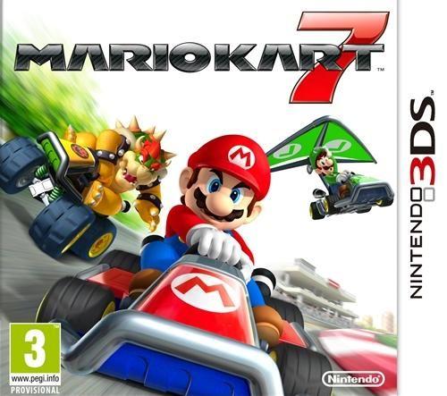 MarioKart7 3DS. Número de préstamos: 22