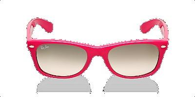 Hot Pink Wayfarers by @RayBan on @SunglassesHut