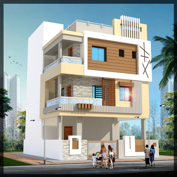 Exterior Home Design India: Best 25+ Indian House Exterior Design Ideas On Pinterest