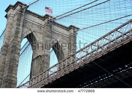 Brooklyn bridge details, New York by Adriano Castelli, via ShutterStock
